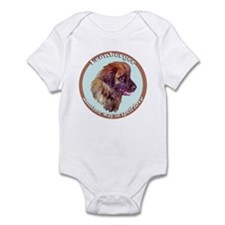 leonberger puppy love Infant Bodysuit