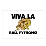 Viva La Ball Pythons Postcards (Package of 8)