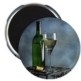 "Wine and Cheese 2.25"" Magnet (10 pack)"