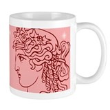 Greek Goddesses/Goddess (red/pink) Mug