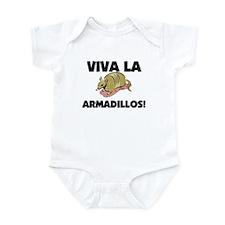 Viva La Armadillos Infant Bodysuit