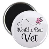 World's Best Vet Magnet