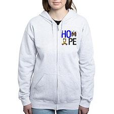 Autism HOPE Zip Hoodie
