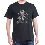Detroit Pirate Dark T-Shirt