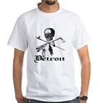Detroit Pirate White T-Shirt