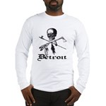 Detroit Pirate Long Sleeve T-Shirt