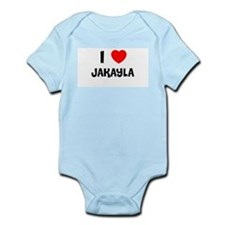 I LOVE JAKAYLA Infant Creeper
