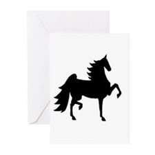 UHF Saddlebred Silo Greeting Cards (Pk of 10)