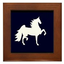 UHF Saddlebred Silo Framed Tile