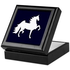 UHF Saddlebred Silo Keepsake Box
