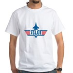 Pi Lot White T-Shirt