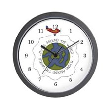Airplane Kids Wall Clock