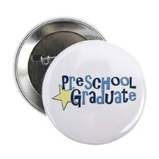 "Preschool Graduate 2.25"" Button (100 pack)"