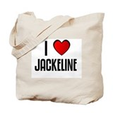 I LOVE JACKELINE Tote Bag