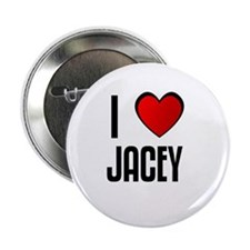I LOVE JACEY Button