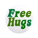 Free Hugs 3.5&amp;quot; Button