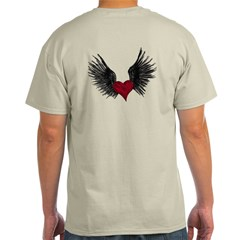 Heart with wings Light T-Shirt