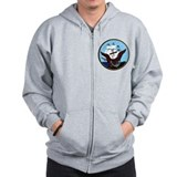 USS Coronado LPD 11 Zip Hoodie