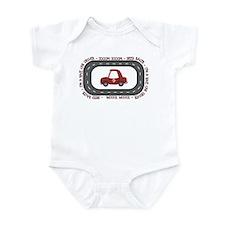 Race Car Driver Infant Bodysuit