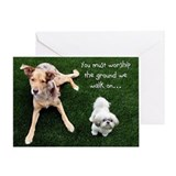 Dog Father's Day Greeting Card