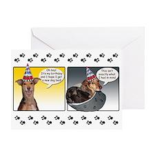 Catahoula Birthday Greeting Card