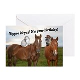 Horseback Bunnies Greeting Cards (Pk of 10)