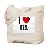 I LOVE ITZEL Tote Bag