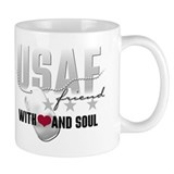 USAF Friend - With Heart and Mug