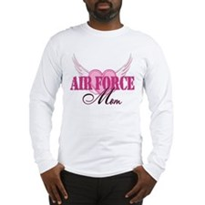 Air Force Mom Wings Long Sleeve T-Shirt