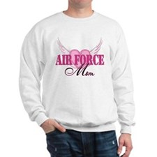 Air Force Mom Wings Sweatshirt