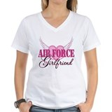 Air Force Girlfriend Wings Shirt