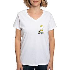 Whimsical Giraffe Shirt