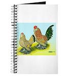 Mille Fleur Rooster & Hen Journal