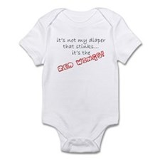 Red Wings Stink! Infant Bodysuit