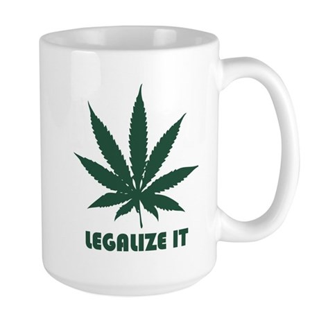 Legalize It Large Mug