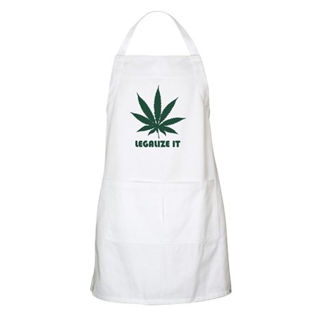 Legalize It BBQ Apron