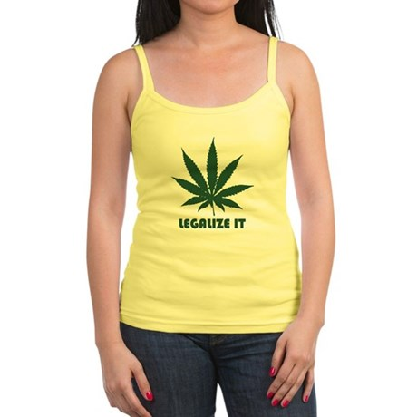 Legalize It Jr Spaghetti Tank