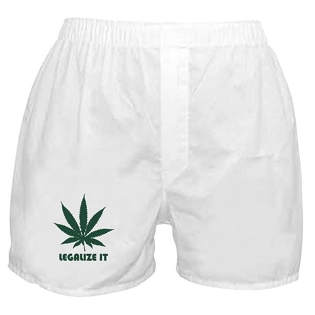 Legalize It Boxer Shorts
