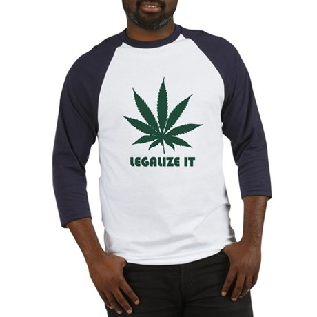 Legalize It Baseball Jersey