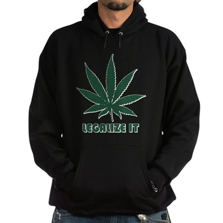 Legalize It Dark Hoodie