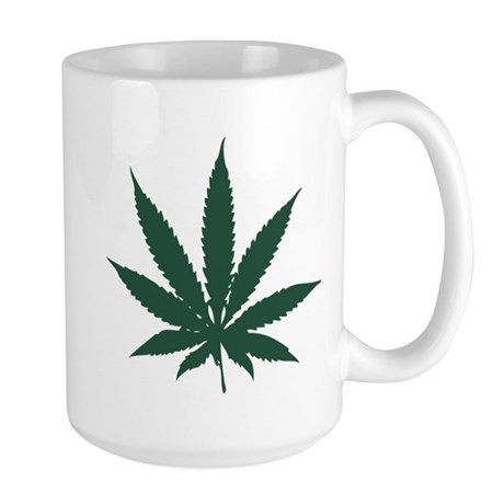 Cannabis Leaf Large Mug