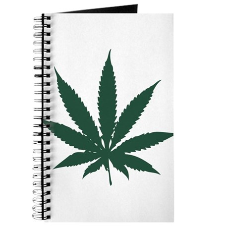 Cannabis Leaf Journal