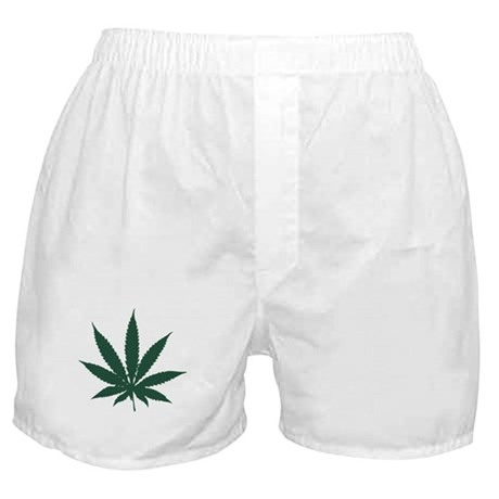 Cannabis Leaf Boxer Shorts