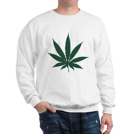 Cannabis Leaf Sweatshirt
