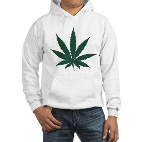 Cannabis Leaf Hooded Sweatshirt