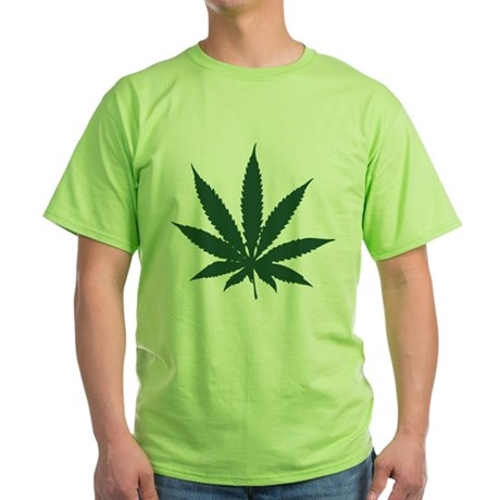 Cannabis Leaf Green T-Shirt