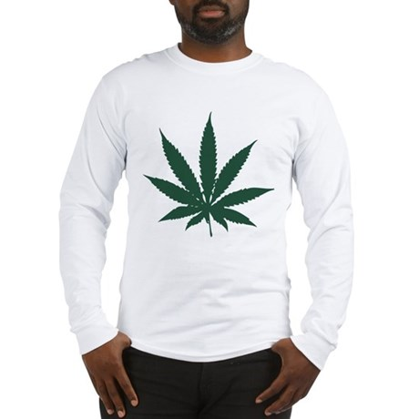 Cannabis Leaf Long Sleeve T-Shirt