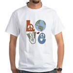 Love Earth White T-Shirt