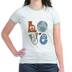Love Earth Jr. Ringer T-Shirt