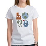 Love Earth Women's T-Shirt